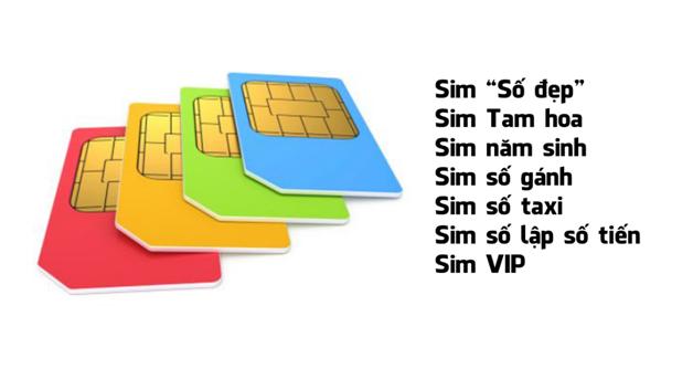 Sim điện thoại được định giá như thế nào?